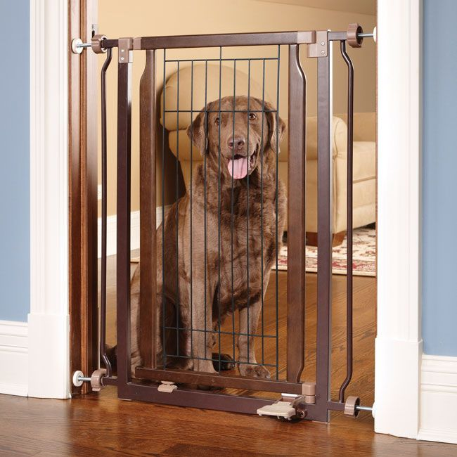 Just Found This Wooden Dog Gate Hands Free Gate Orvis