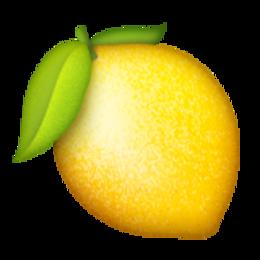 Transparent Emojis How To Squeeze Lemons Emoji Fruit
