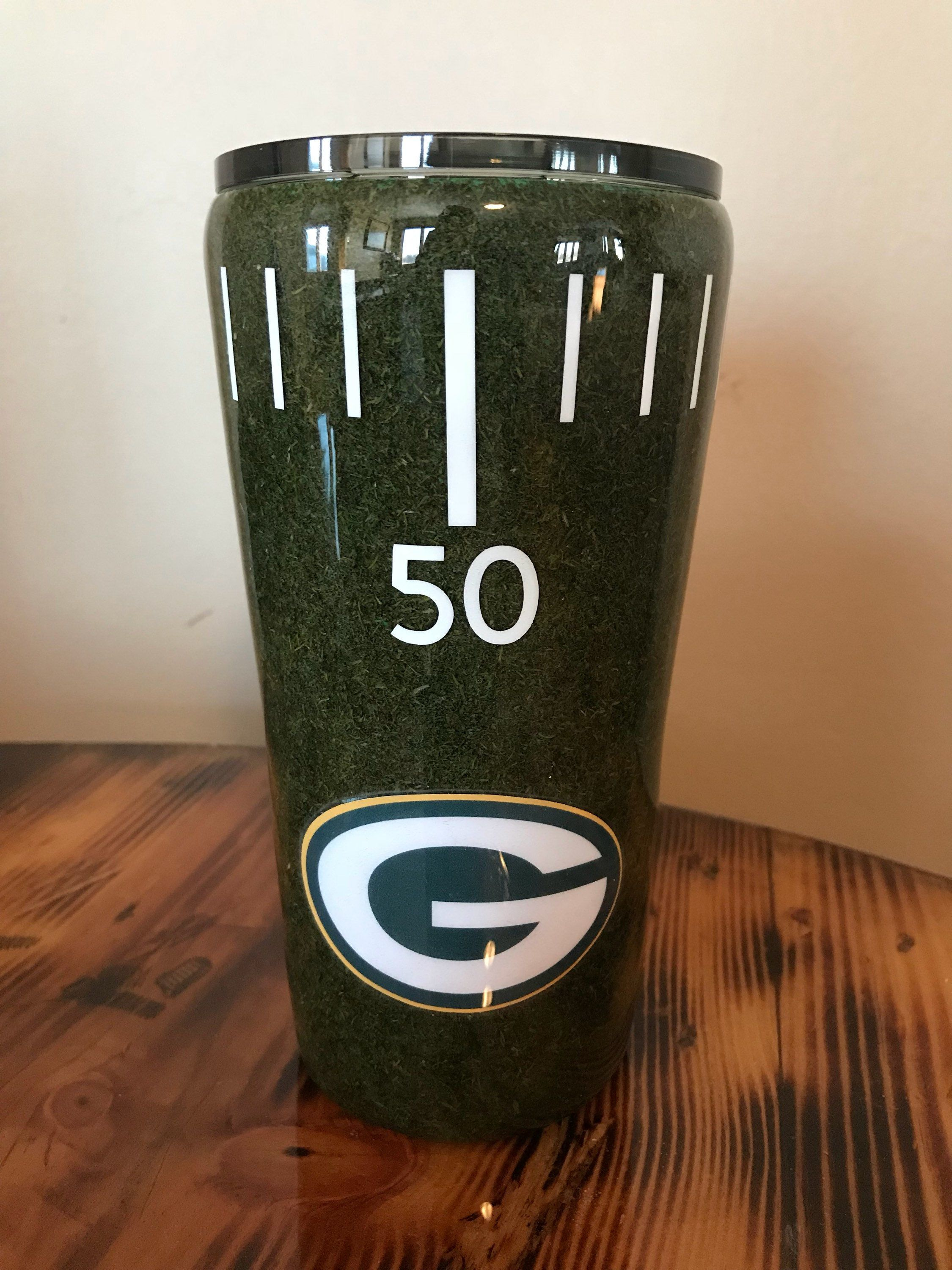 Football Turf Tumbler By Mandykingcreations On Etsy
