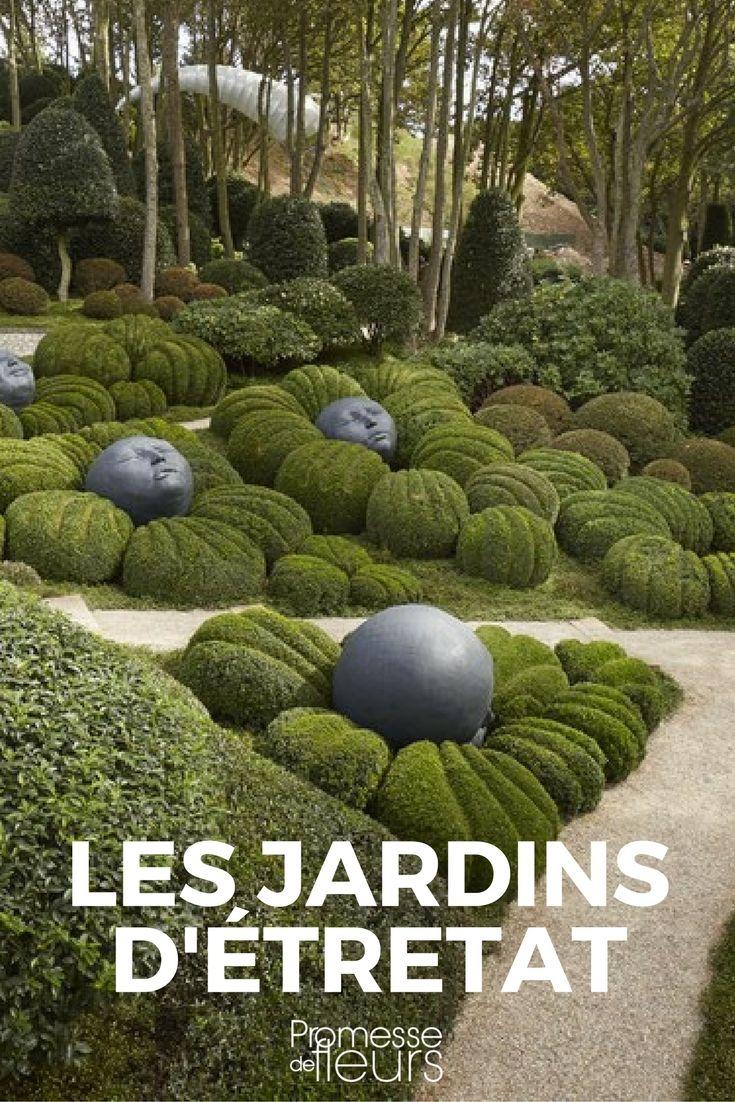 Les Jardins D Etretat Garden Art Pinterest Normandy France