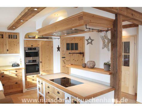 Nussdorfer Küchenhaus - Ihr Partner für Landküchen, Landhausküchen - küche eiche rustikal
