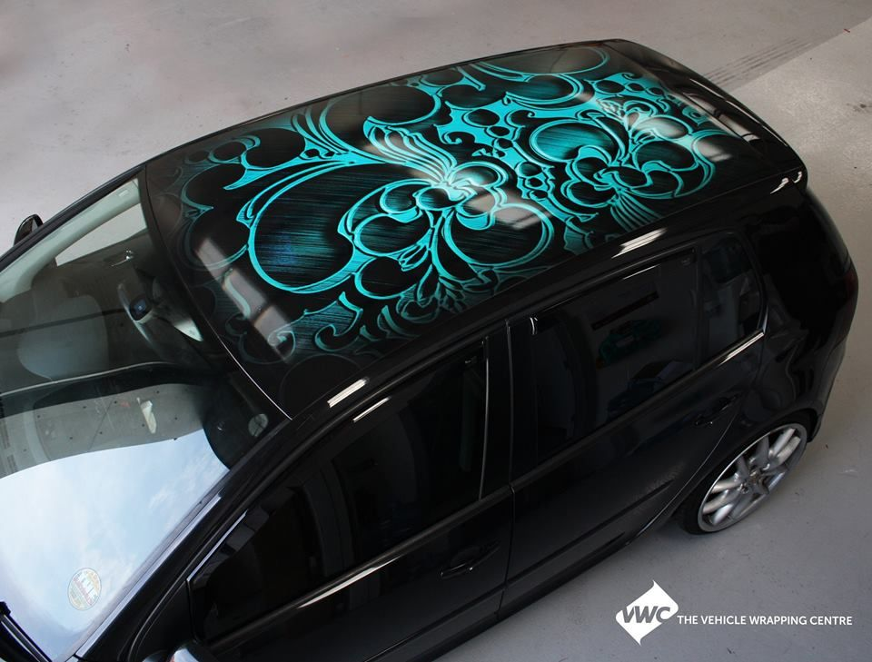 Good This Is A Stunning Bespoke Roof Wrap That Uses Special Vinyl, A Wonderful  Project To Come Out Of Our Leeds Garage.