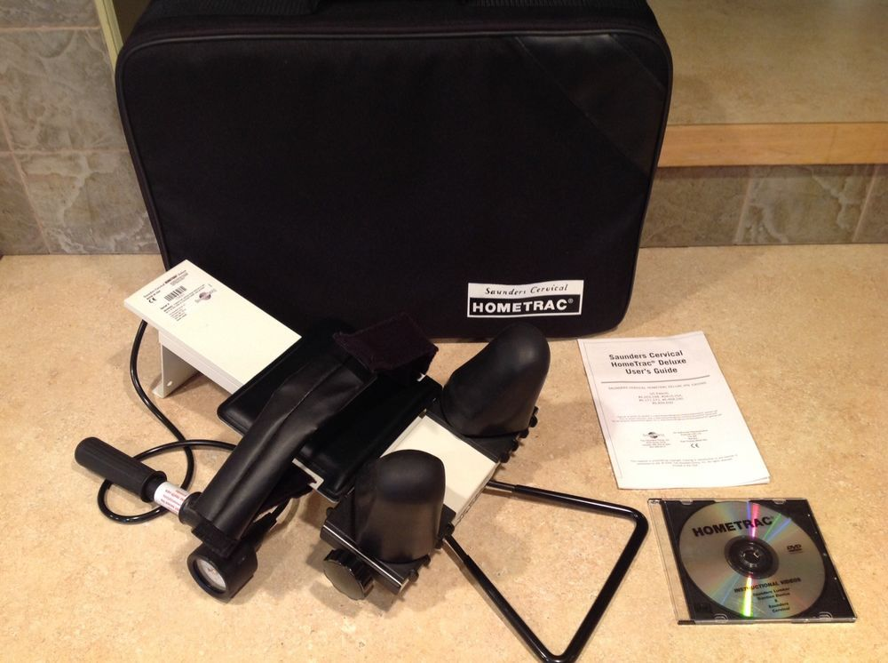 Saunders Cervical Traction Device With Bag Carrying Case