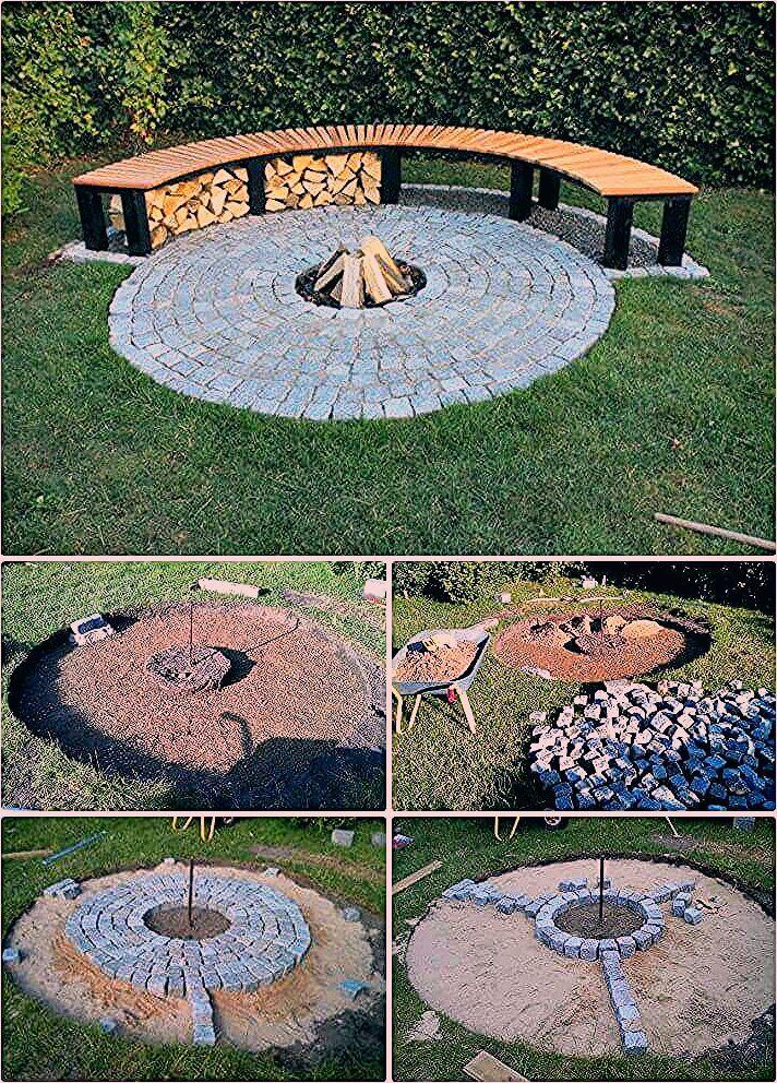 Photo of 62 Feuerstelle Ideen zu DIY Günstige Feuerstelle für Ihren Garten