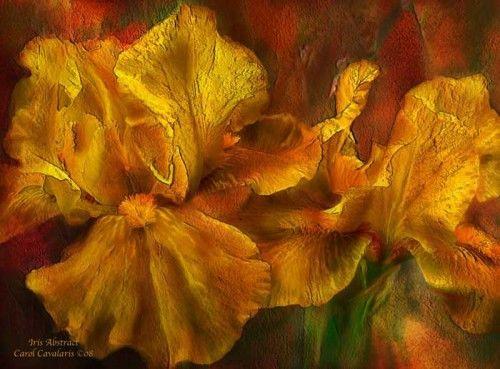 Мир волшебных цветов. Цифровая живопись Кэрол Каваларис - Ярмарка Мастеров - ручная работа, handmade