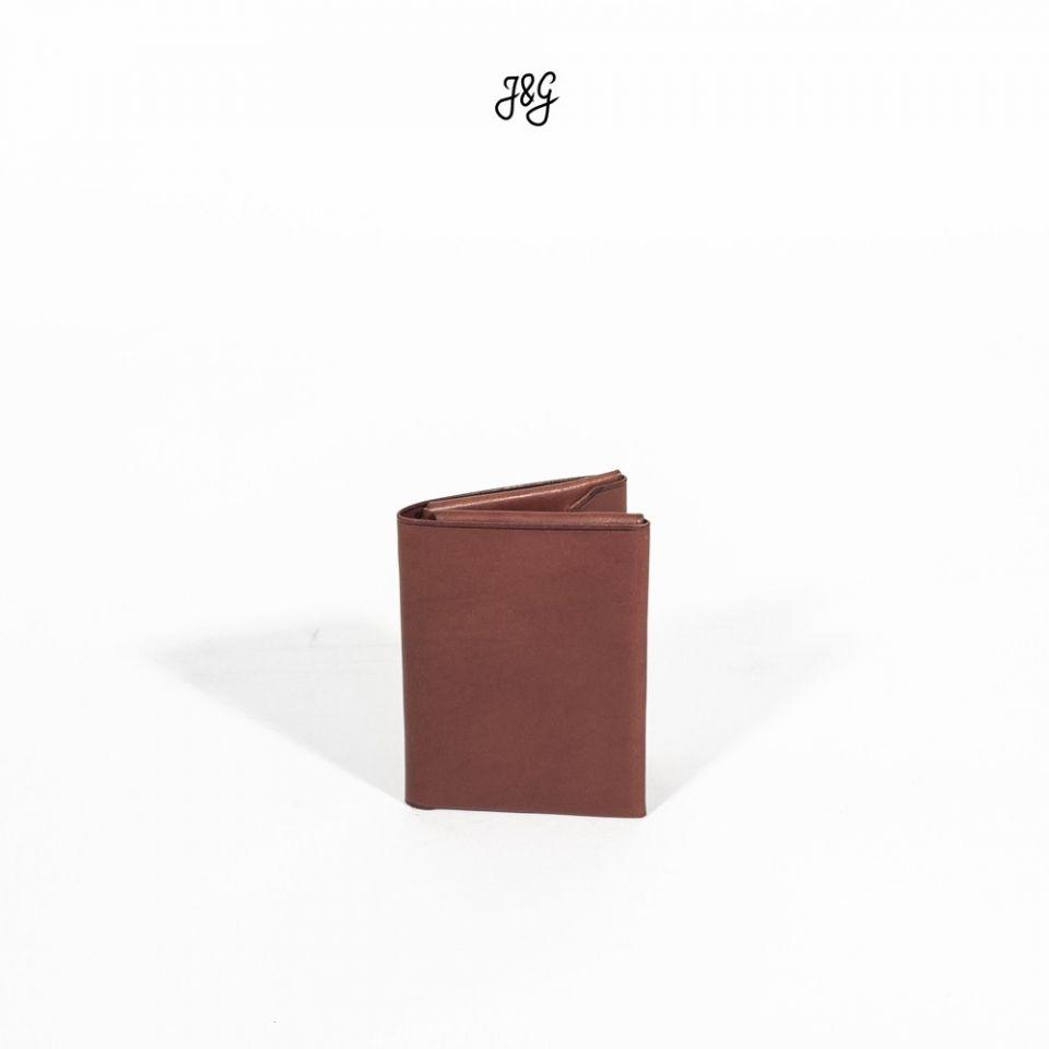 Portefeuille - Origami - Châtaigne