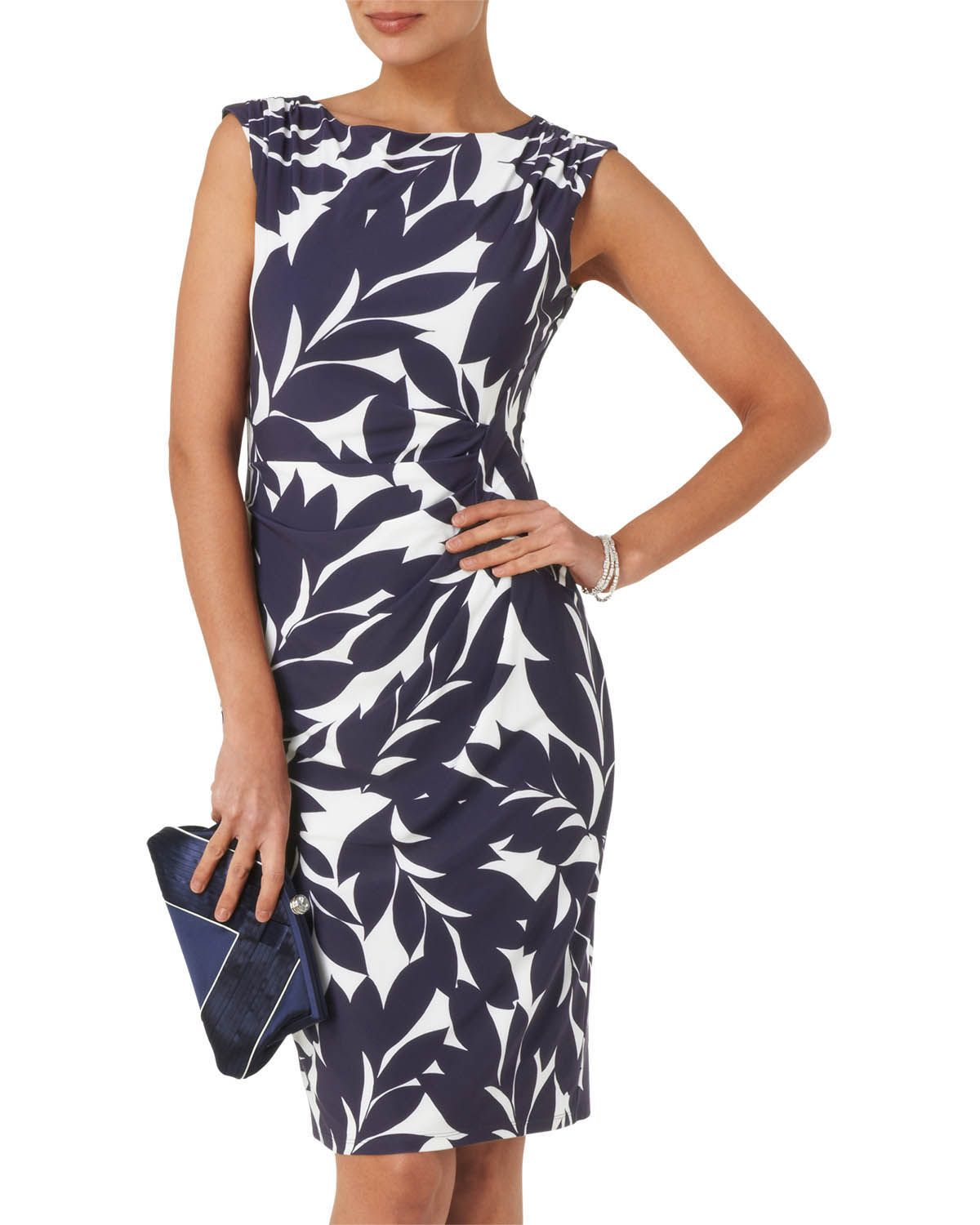 Phase Eight Women S Dresses Leaf Print Dress Spring Summer