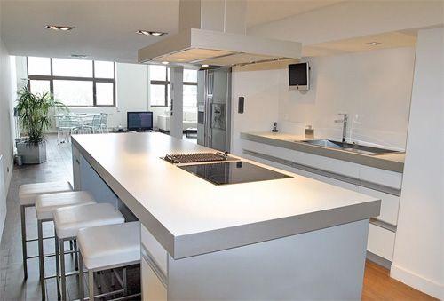 cuisine design ilot central - recherche google | maison