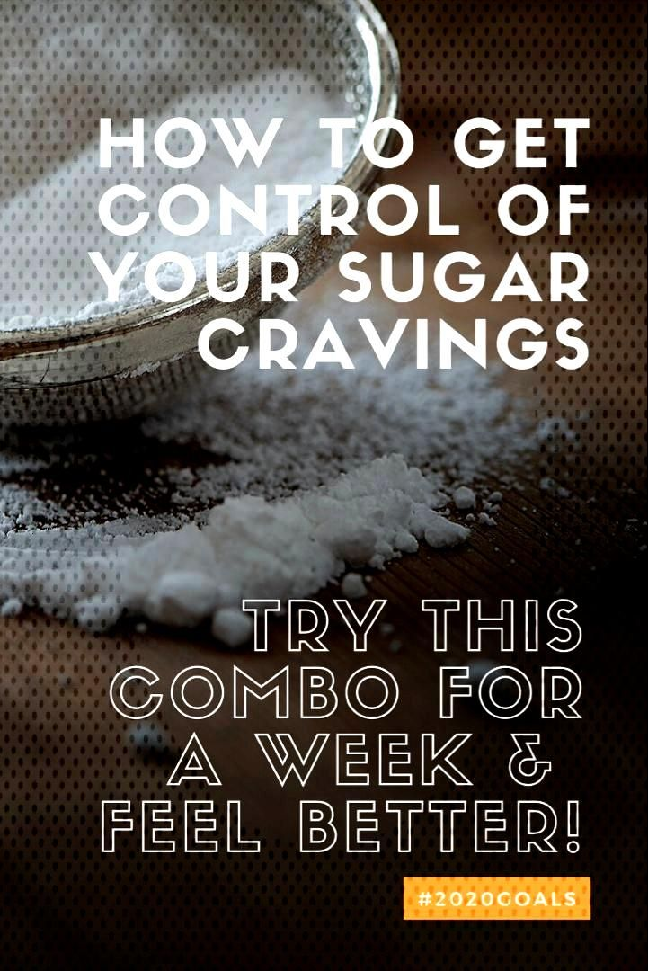 Try this combo for a week. Get Control of your your sugar cravings and lose the weight,