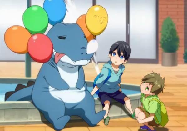 Free! Meets Amagi Brilliant Park | Anime
