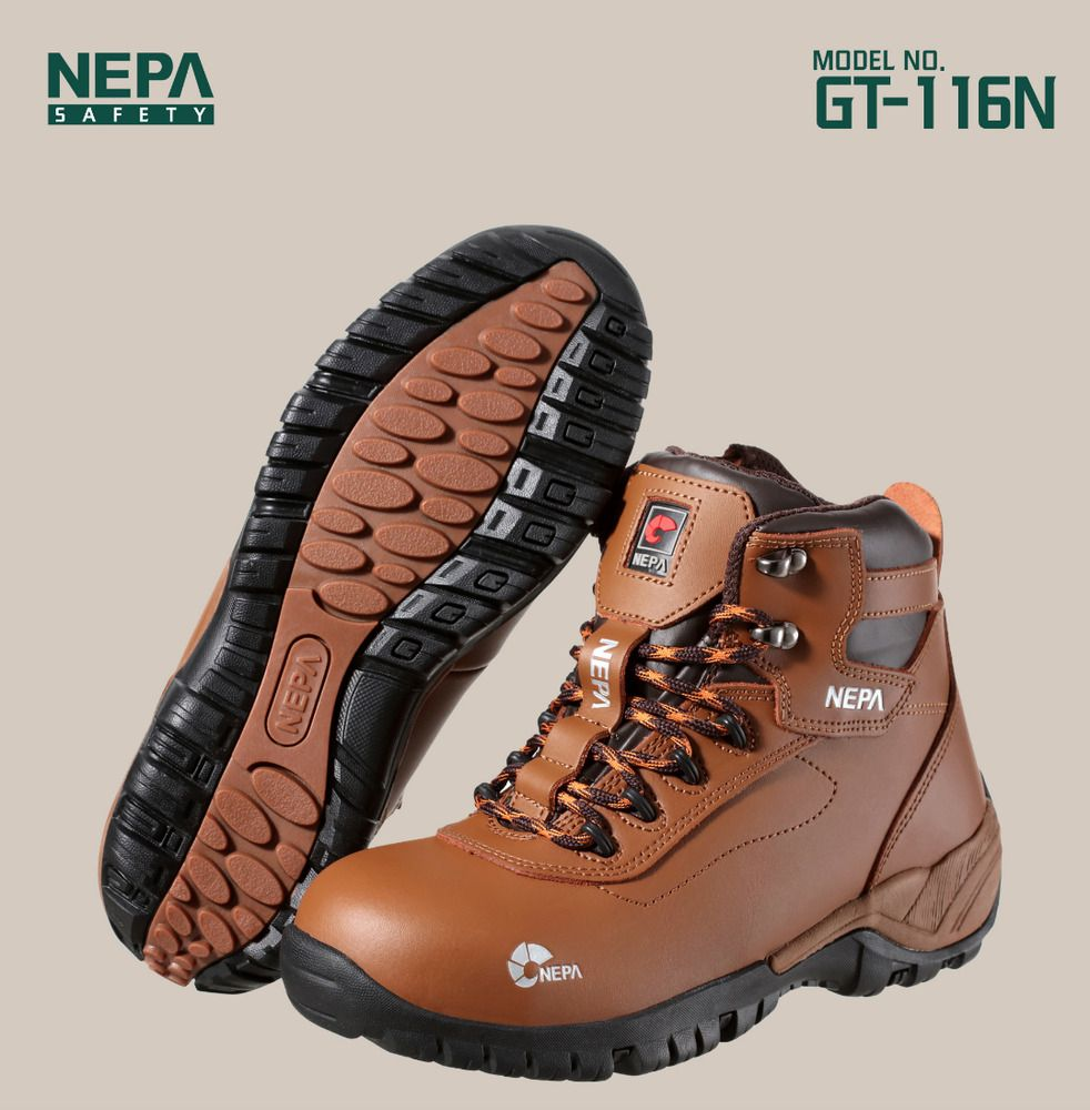 NEPA Safety shoes Work boots GT116N Steel Toe US M 8.011