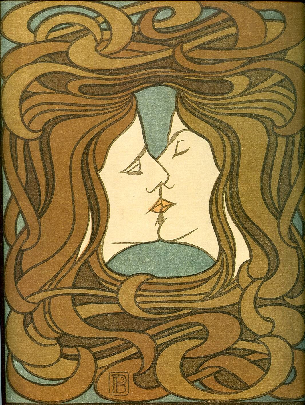 art nouveau jan toorop art nouveau of jugendstil art on the wall pinterest kus posters. Black Bedroom Furniture Sets. Home Design Ideas
