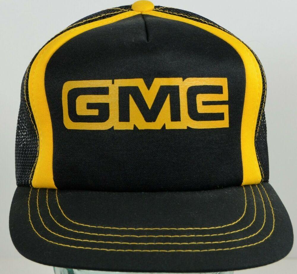 GMC Black and Gray Mesh Hat