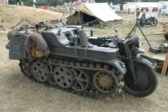 Pin by Jim Hayes on Kettenrad | Army vehicles, Ww2 tanks