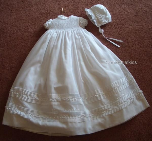 Sarah Louise Smocked Baby Dress  5e0f1bd53f