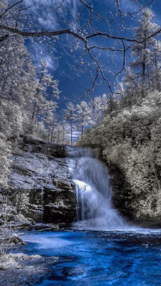 Secret Falls, Nantahala National Forest, Highlands, North