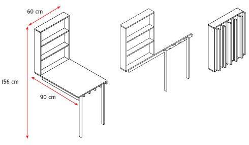 Cmo construir un escritorio plegable Tere Pinterest