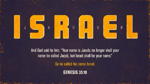 Genesis 35:10 art by Jim LePage