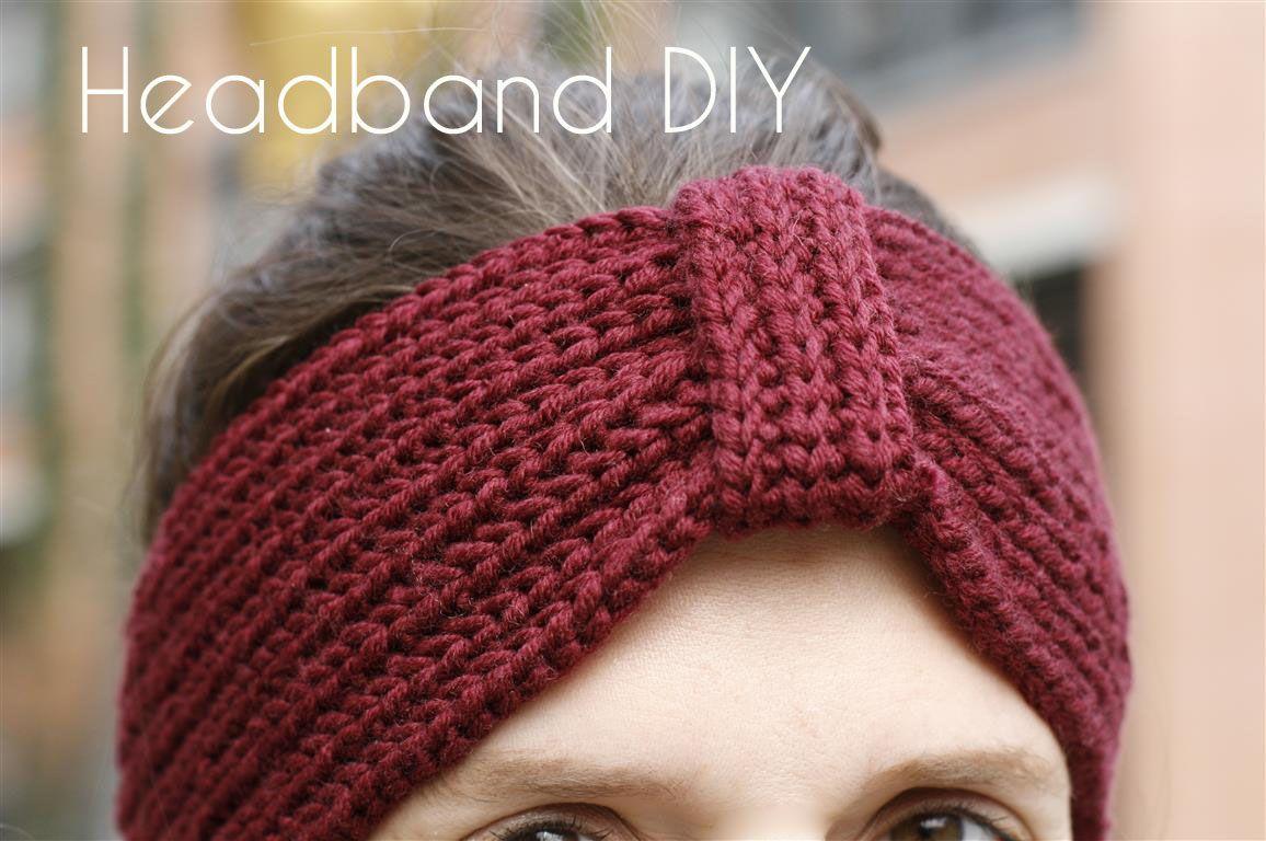 Schnell - bevor es richtig warm wird! Häkel-Stirnband (I wear my own ...