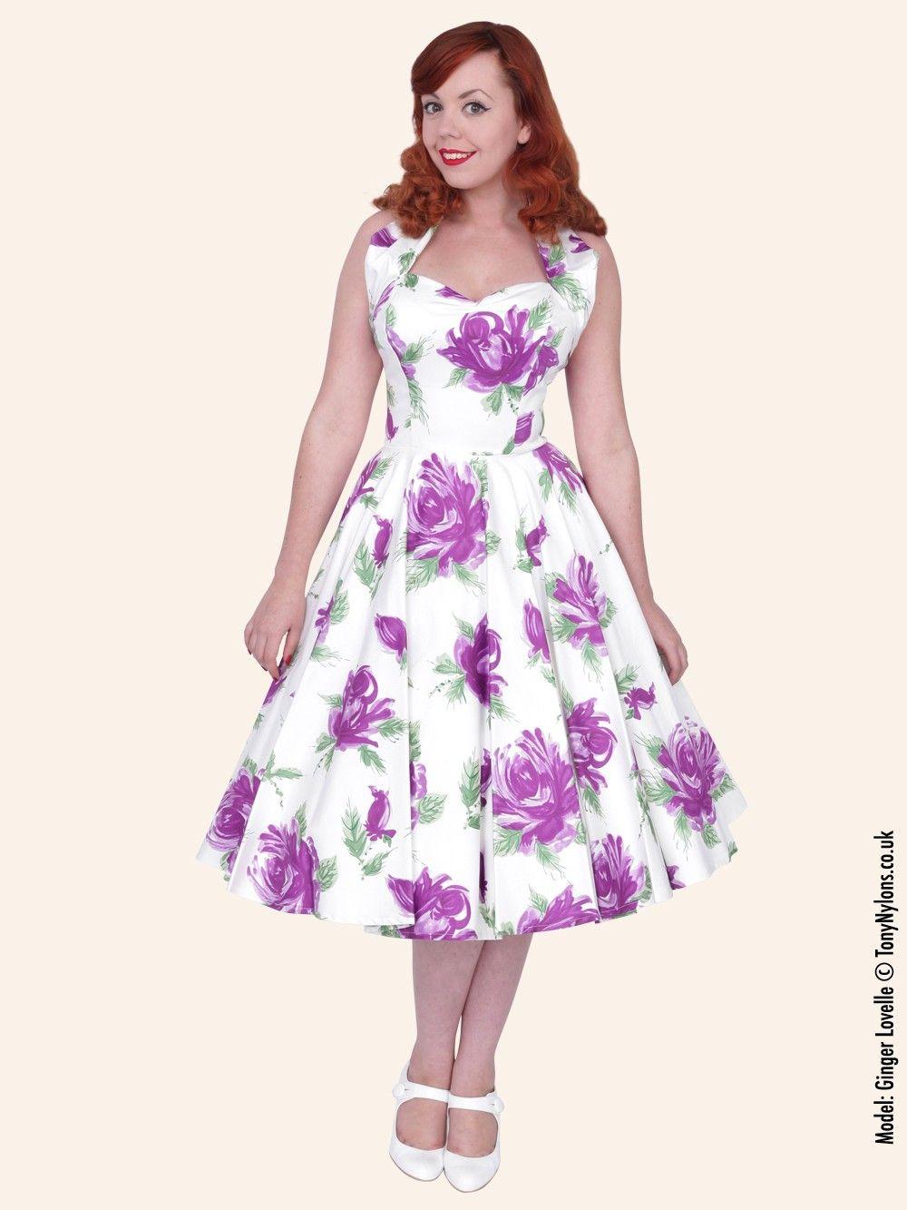 Rose Purple Dresses