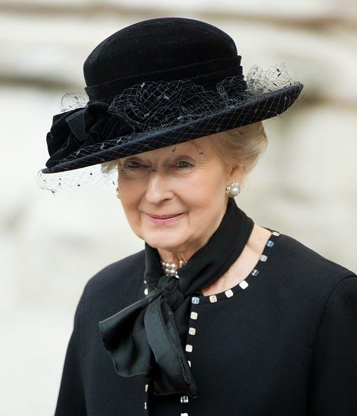 Royal Family Around the World: Service Of Thanksgiving For Lady Soames at Westminster Abbey on November 20, 2014 in London, England. Princess Alexandra