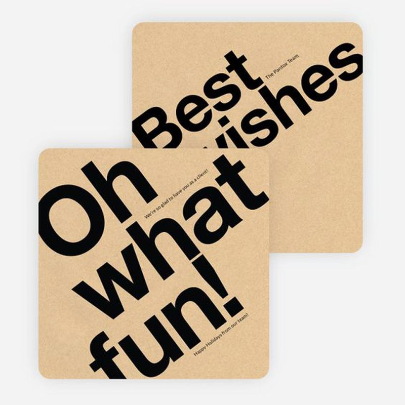 Best wishes, Oh what fun. | Christmas cards - business | Pinterest ...