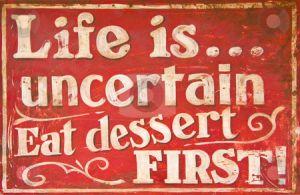 cutcaster-photo-100616621-Old-vintage-dessert-sign