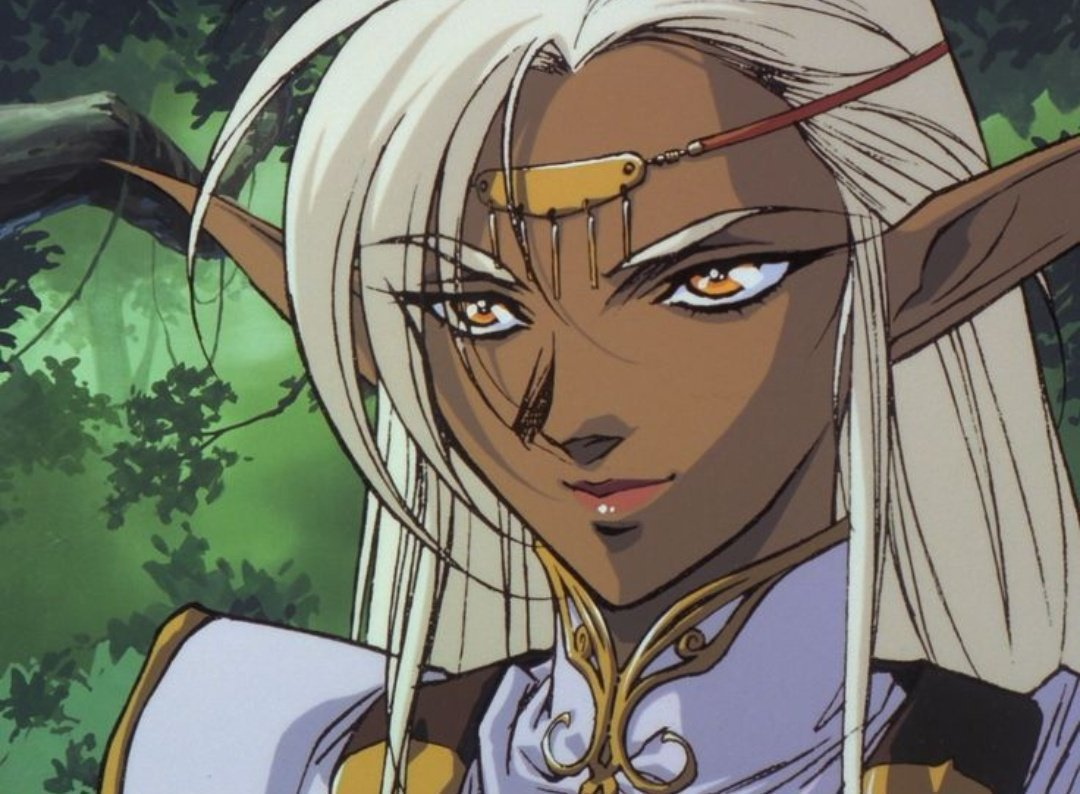 Jin ⸸ Burn The Witch🐍 on Anime elf, Anime, Old anime