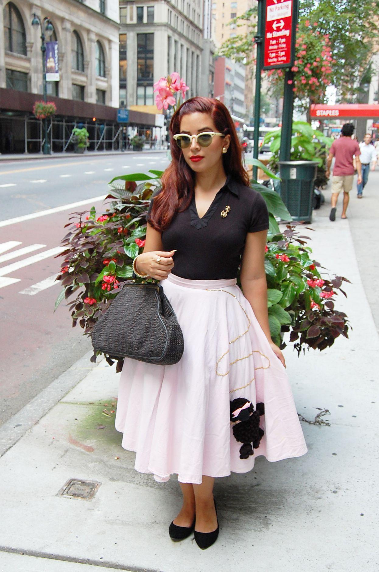 Women Still Wear Full Skirts, Very Few Wear The Poodle