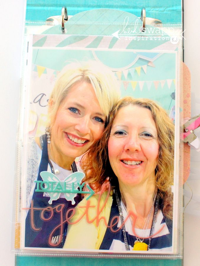 insta-love make pretty stuff mini album « Heidi Swapp @kimjeffress @heidiswapp #heidiswapp #heidisfavoritethings #DIY #scrapbooking
