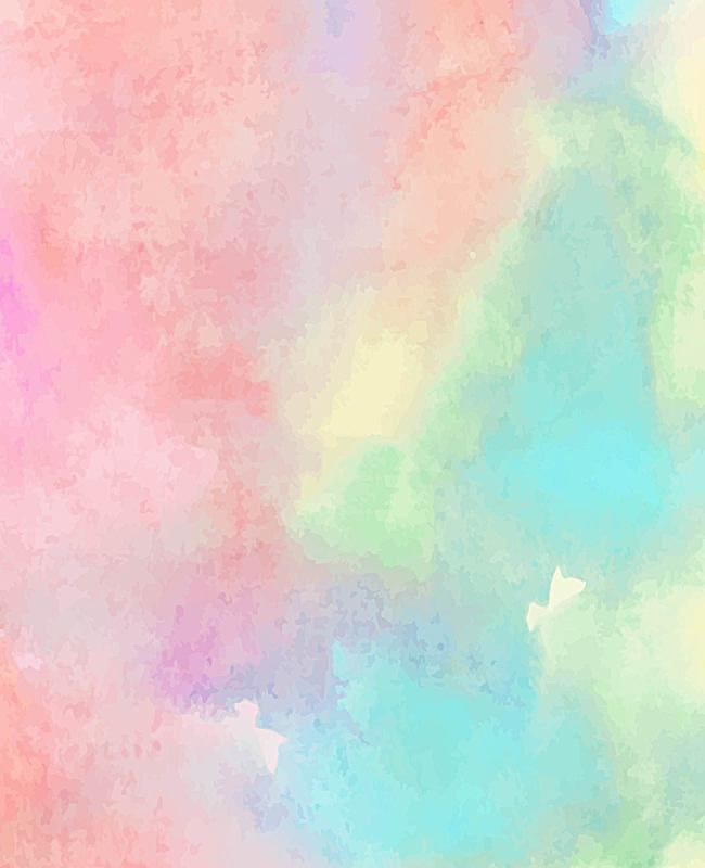 Vector Japanese Watercolor Pastel Background