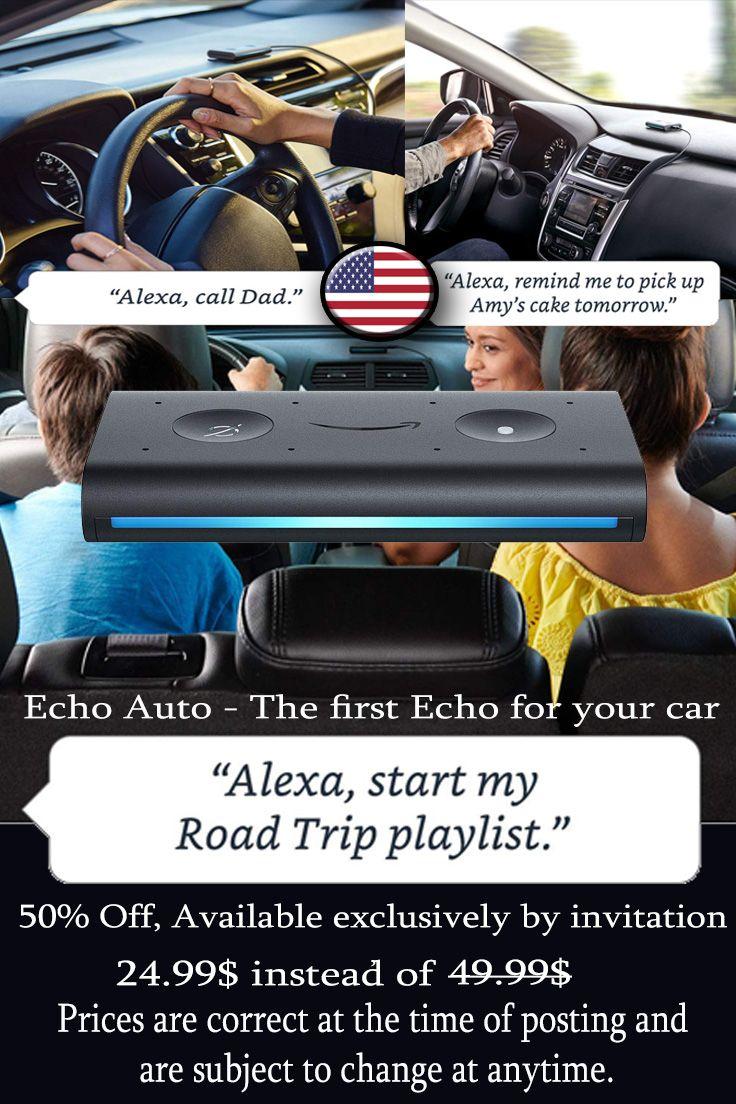 Echodot Echoauto Car Mycar Amazon Usa Unitedstatesofamerica