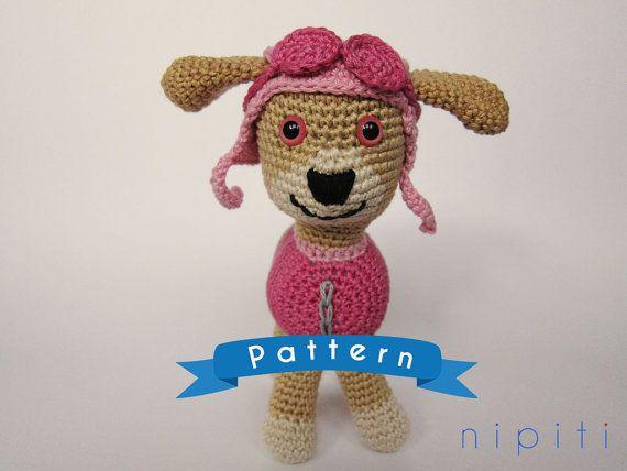 Paw patrol skye crochet pattern amigurumi patrulla - Manualidades patrulla canina ...