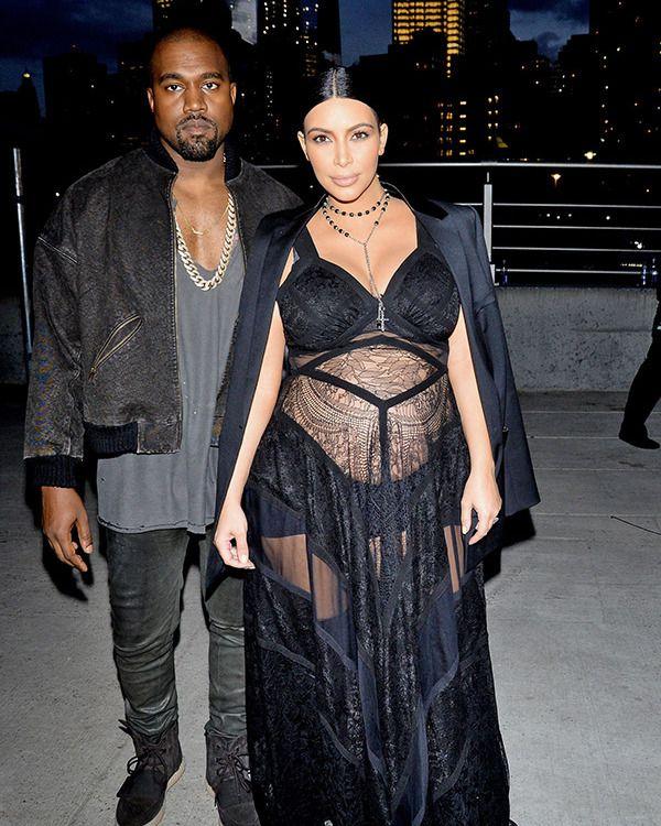 Kim Kardashian Kanye West Will Baby Be Called Saint West Kim And Kanye Kim Kardashian And Kanye Kim Kardashian Kanye West