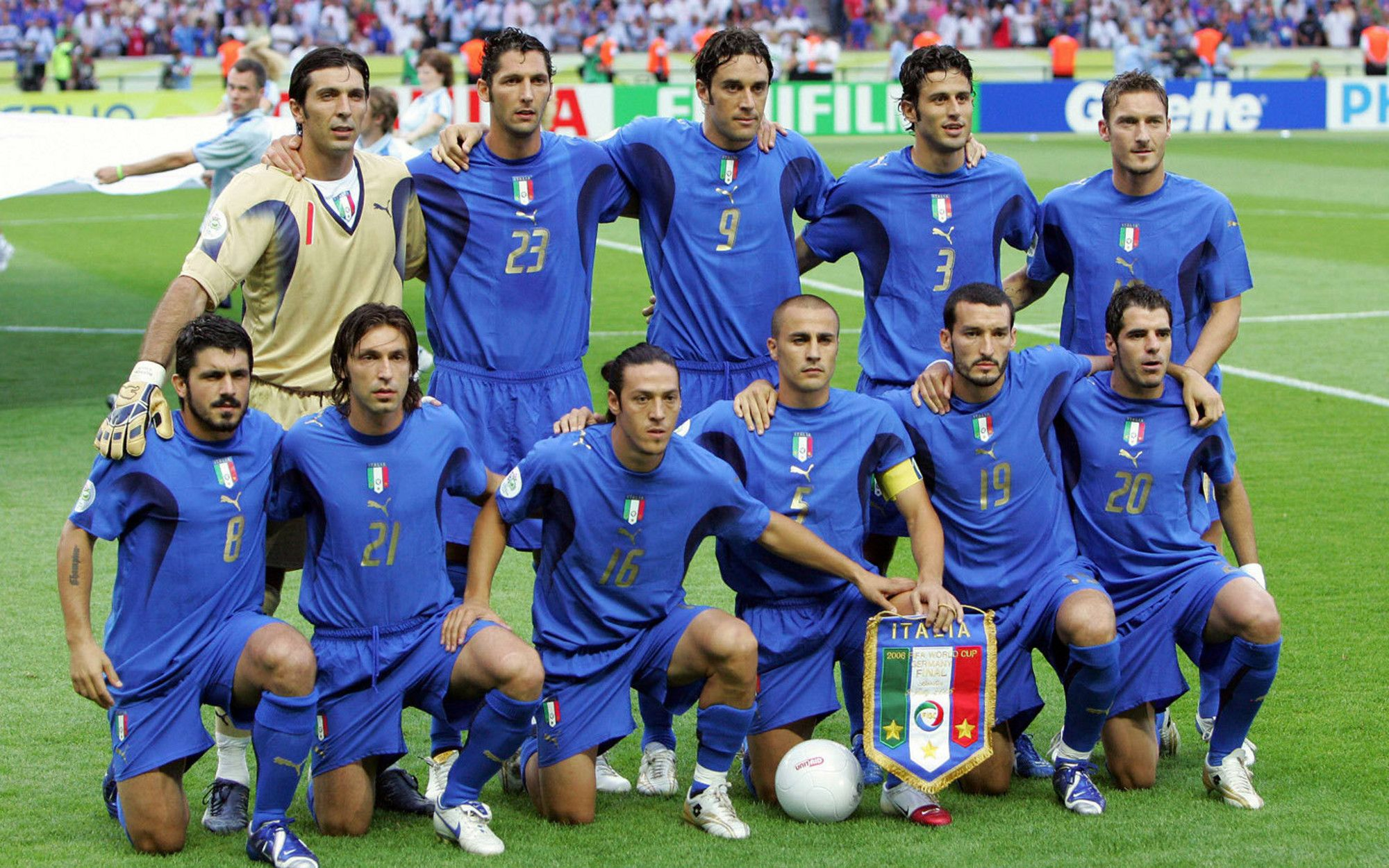 Italy 2006 World Cup Champions World Cup World Cup Teams Football Squads