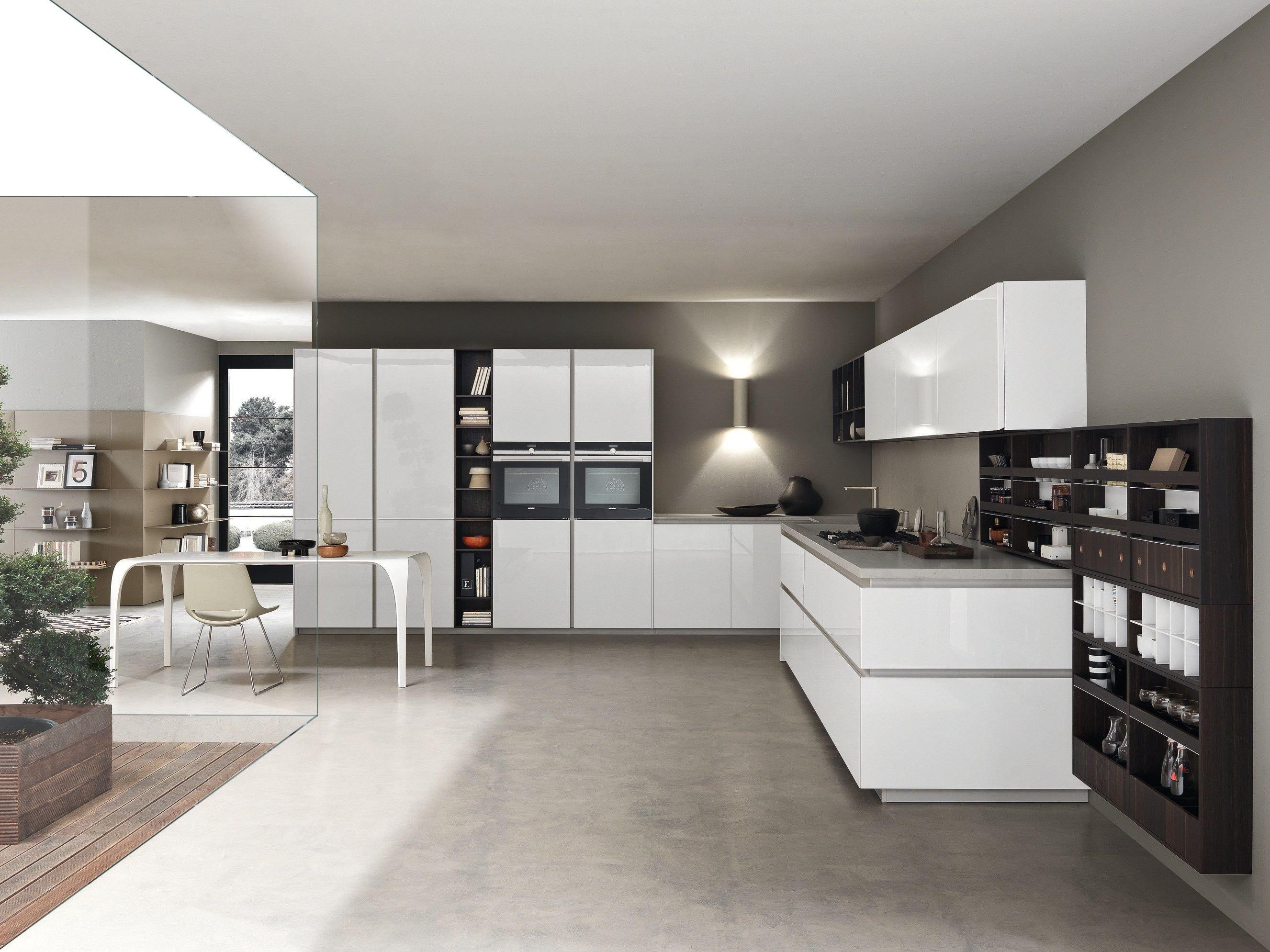 Cucina componibile laccata FILO BANCO by Comprex design MARCONATO ...