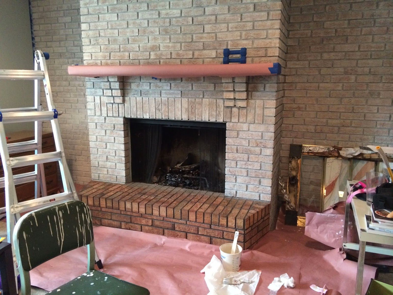Walking with dancers the family room s fireplace update - Walking With Dancers The Family Room S Fireplace Update