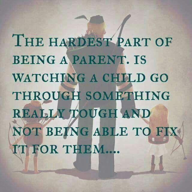 My Daughter Hates Me Quotes Extraordinary The Hardest Part Of Being A Parentfamily & Friends .