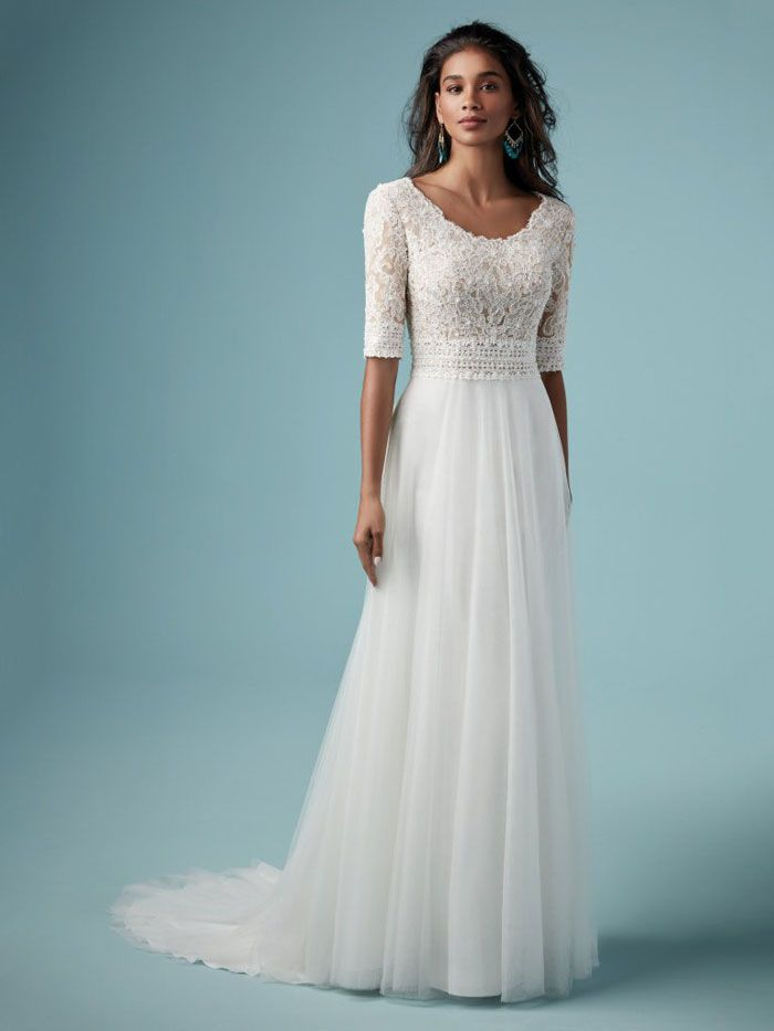 27 wedding dresses with long sleeves