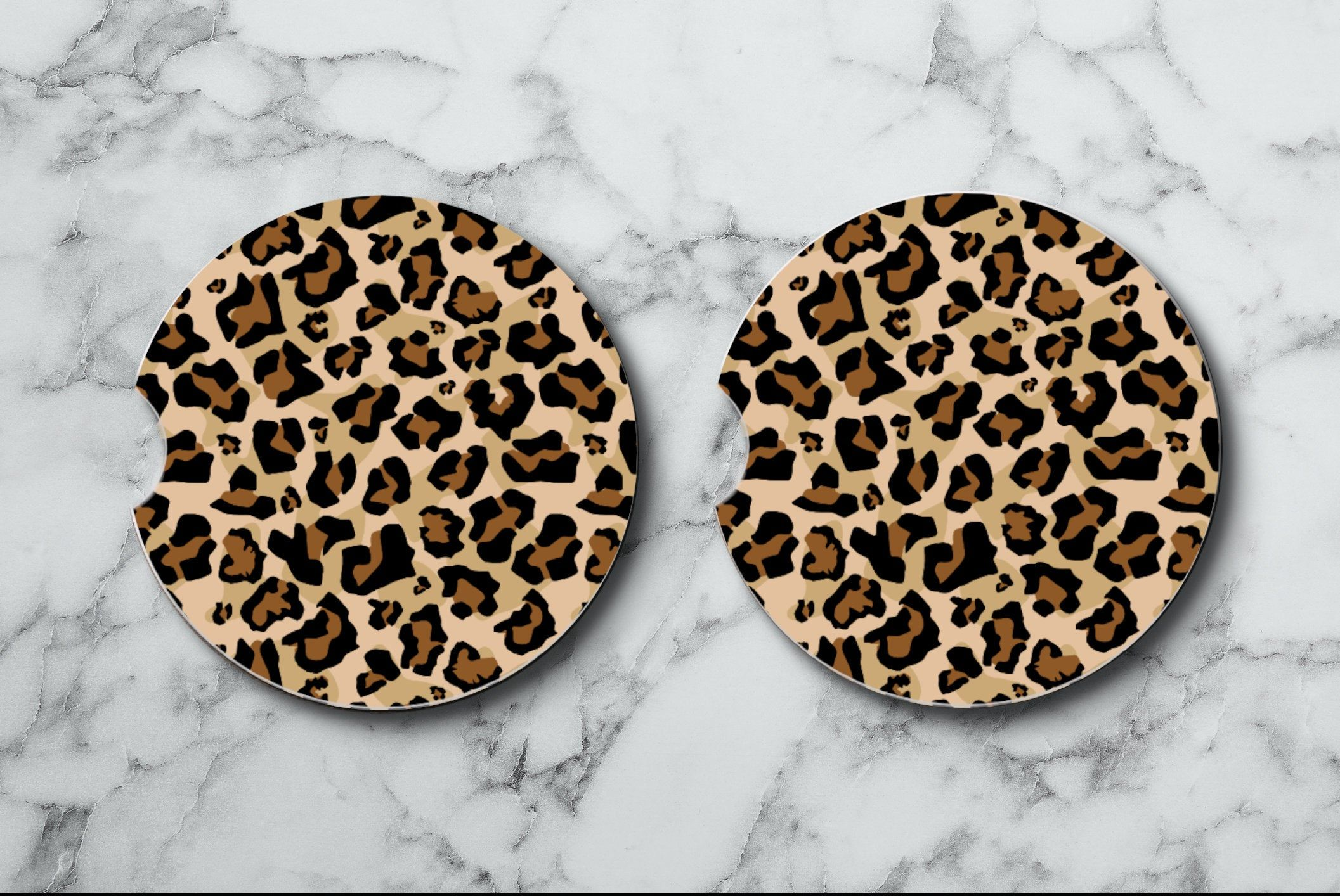Car Coasters Set 2 Absorbent Car Coasters Fabric Top Rubber Cup Holders Cup Coasters Car Bling Cheetah Print Car Coasters In 2021 Car Coasters Car Coasters Cup Holders Cute Car Accessories [ 1414 x 2113 Pixel ]