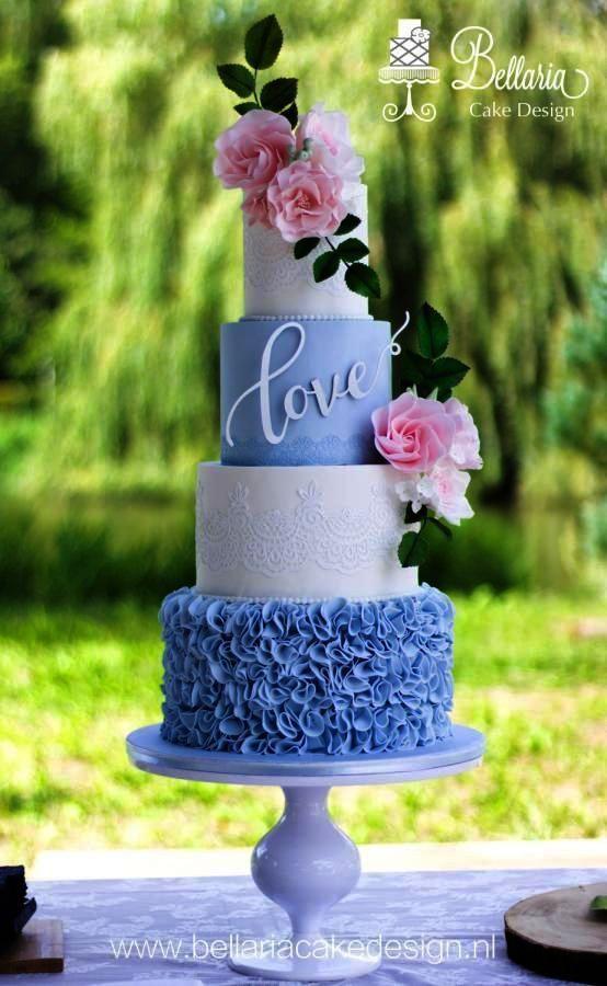 Unique Wedding Cake Designs Images Neither Affordable Wedding Cakes Orlando Fl Over Wedding Invita Blush Wedding Cakes Romantic Wedding Cake Wedding Cakes Blue
