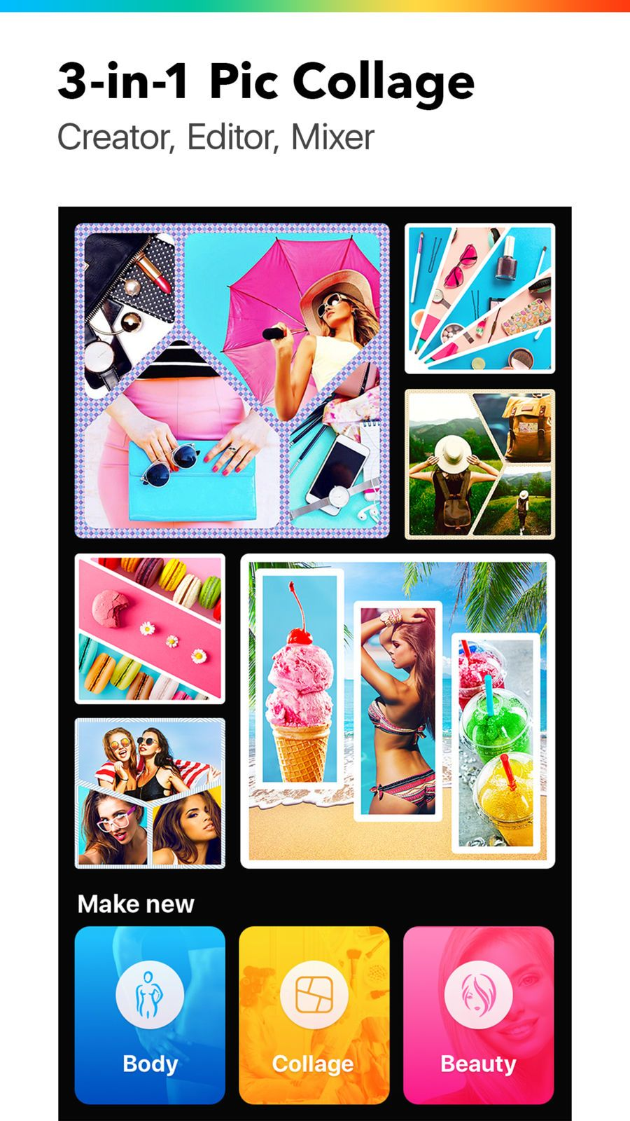 Photo Collage Collageable LifestyleVideoappsios