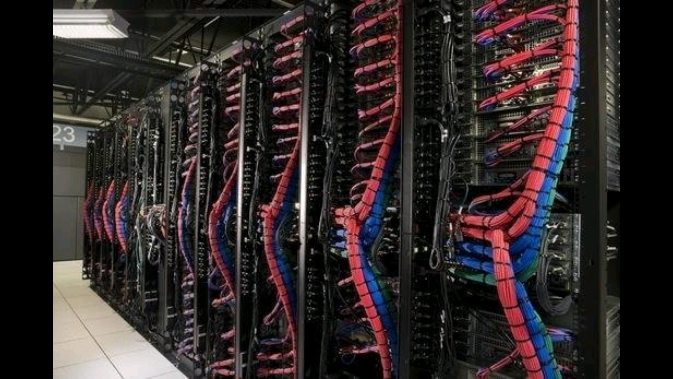 Inside An Ibm Cloud Data Center Cable And Wires Pinterest Advantages Of Structured Wiring Cabling Le Cout