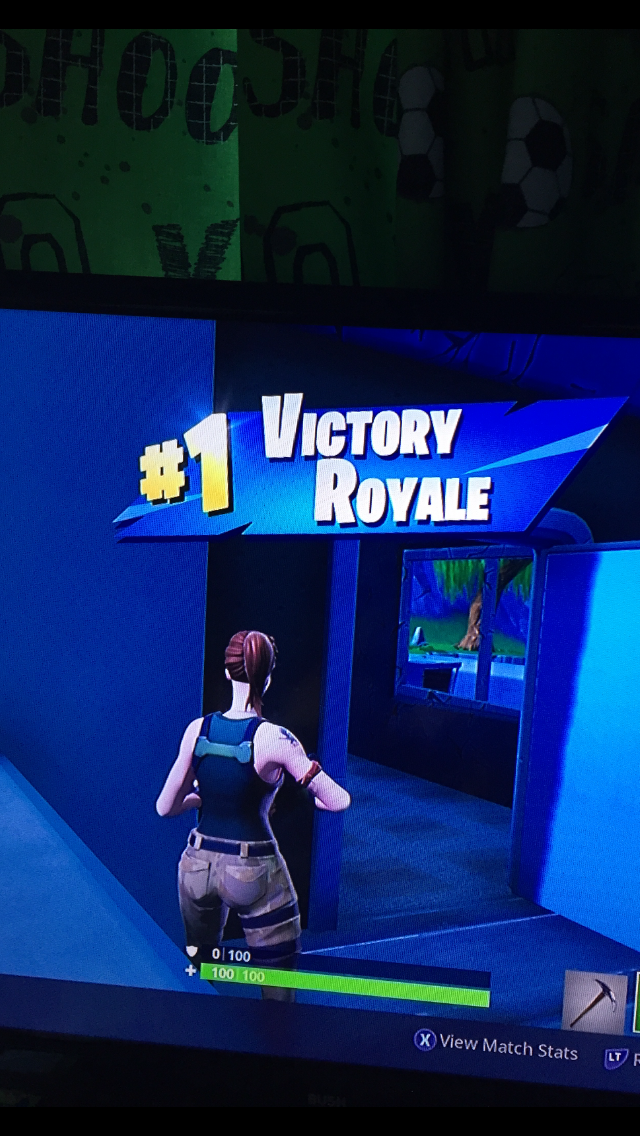 First 1 Victory Royale Fortnite Backgrounds Phone Wallpapers Victorious