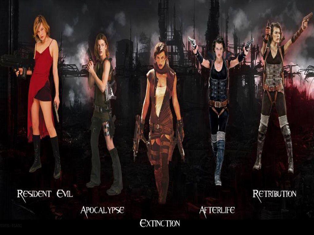 Resident Evil Movie Wallpaper: Resident Evil