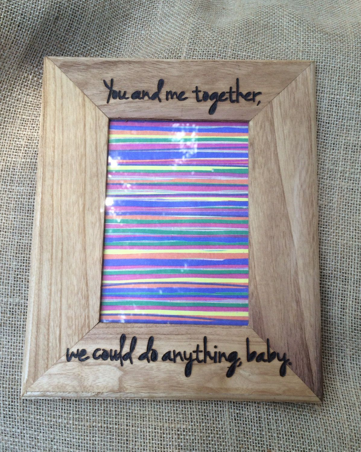 Dave Matthews Band You And Me Wood Picture Frame Music Dave