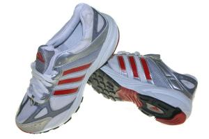 Adidas Running Clasic Putih Merah Sepatu Merah