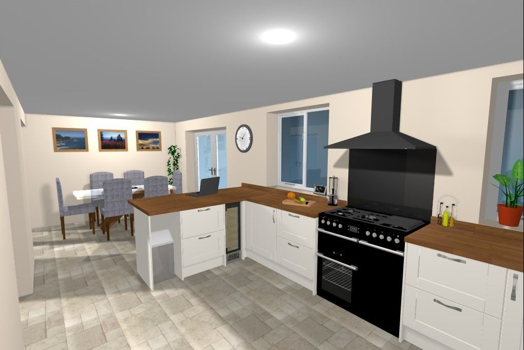 Another CAD Kitchen Image From Howdens In Penrith. See More At Howdens.