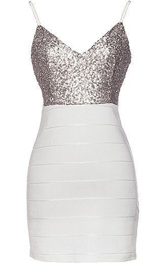 Sequins dress blue and black bodycon