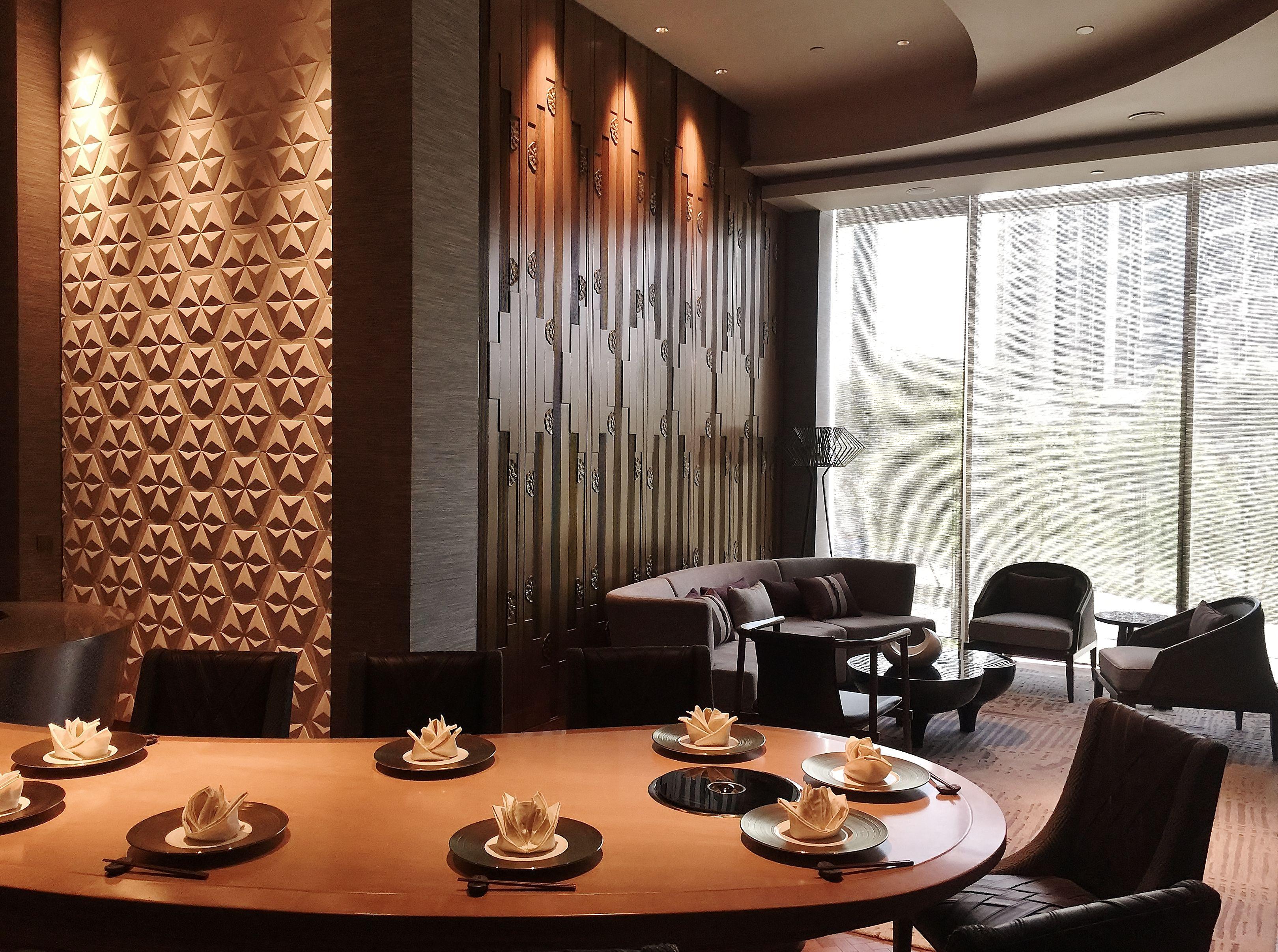 Specialty Restaurant Korean PDR Wall ideas